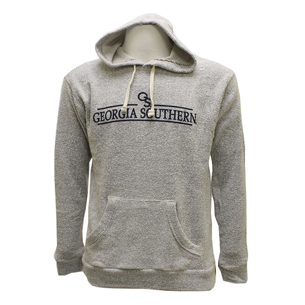 Image For MV Sport Gray Ladies Hoodie w/GS/GASO