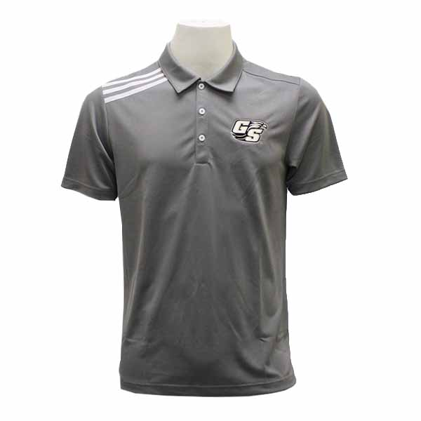 Image For Adidas Gray Golf Polo