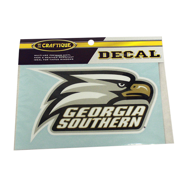"Image For Craftique 6"" Decal w/ Athletic Logo"