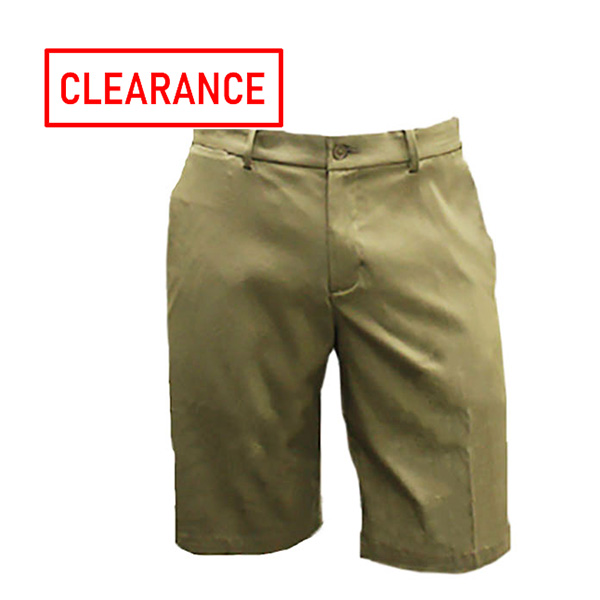 Image For Nike Flat Front Khaki Short w/GS