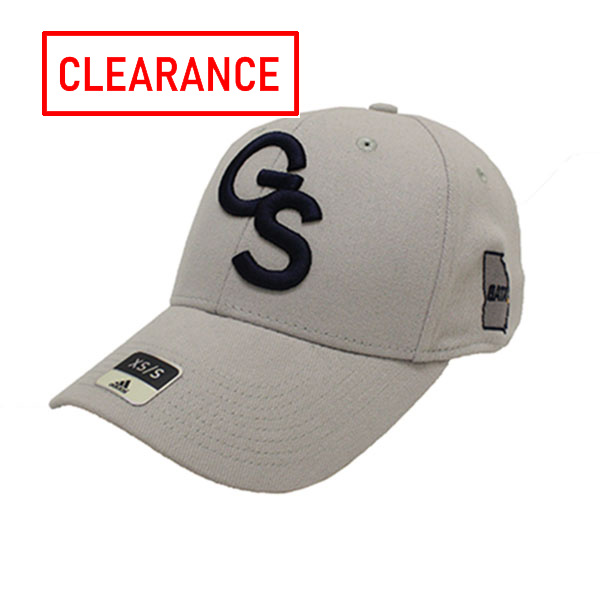 Image For Adidas Collegiate Gray Structured Flex Cap w/GS/Skip/GATA