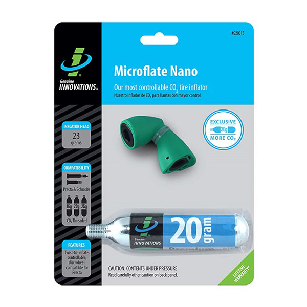 Image For Genuine Innovations Microflate Nano Co2 Inflator