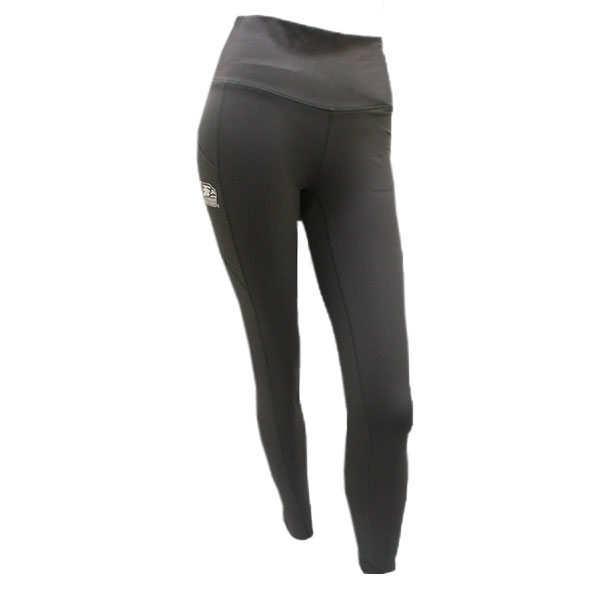 Image For Kadyluxe Lady Gray Leggings w/Athletic Logo