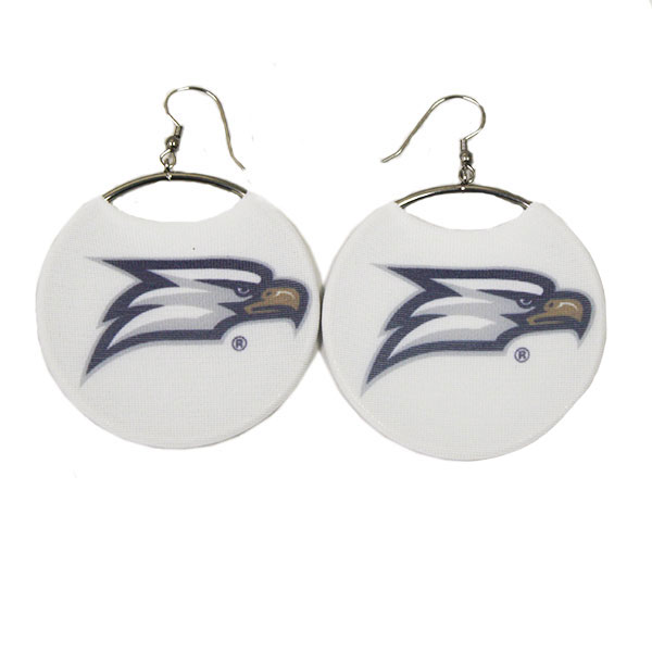 Image For Spirit Hoop Earrings w/Eagle Head