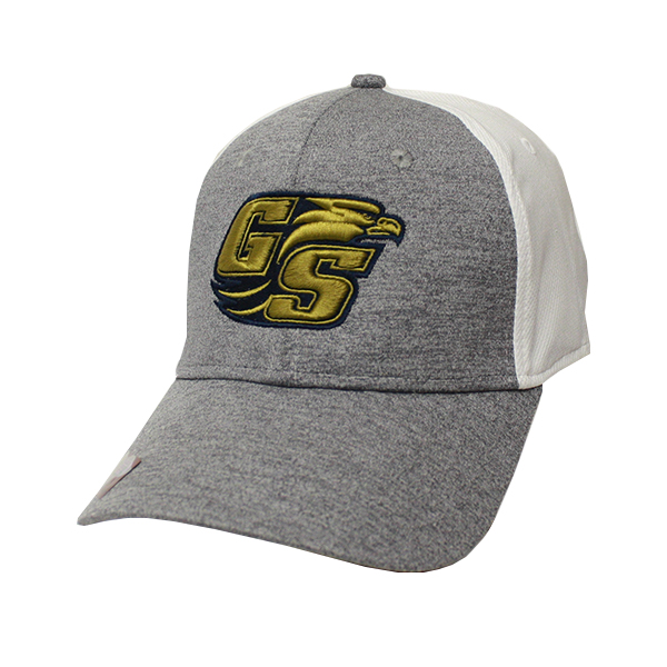 1cc731be17449 Ahead Gray and White Mesh Cap w Secondary Logo