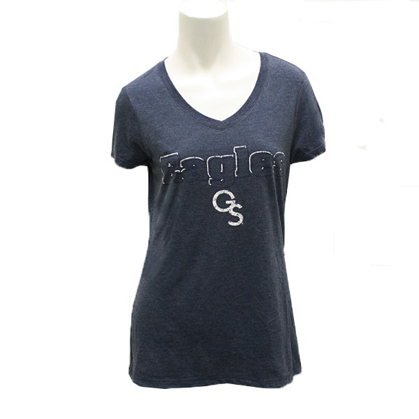 Image For CI Sports Navy ladies T-shirt w/Eagles/GS