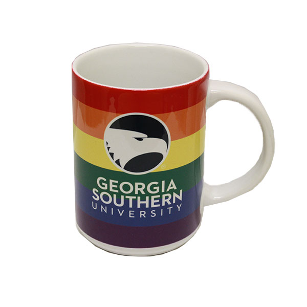 Image For 11 oz Rainbow Mug w/Academic Logo