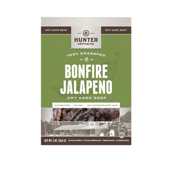 Image For Hunter Cattle Co. Bonfire Jalapeno Dry Aged Beef , 2OZ