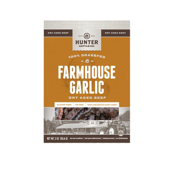 Cover Image For Hunter Cattle Co. Farmhouse Garlic Dry Aged Beef, 2OZ