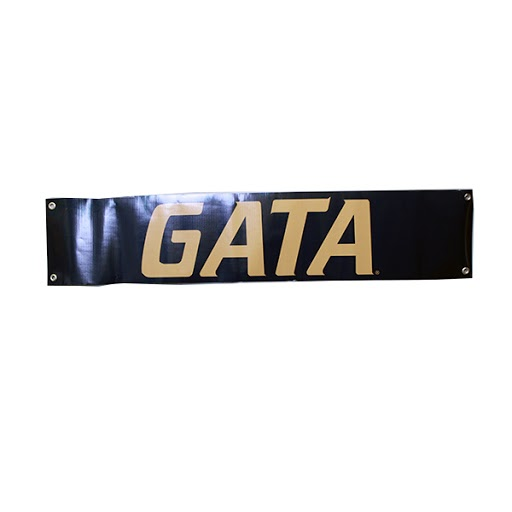 "Image For 10"" X 48"" GATA  Handheld Banner"