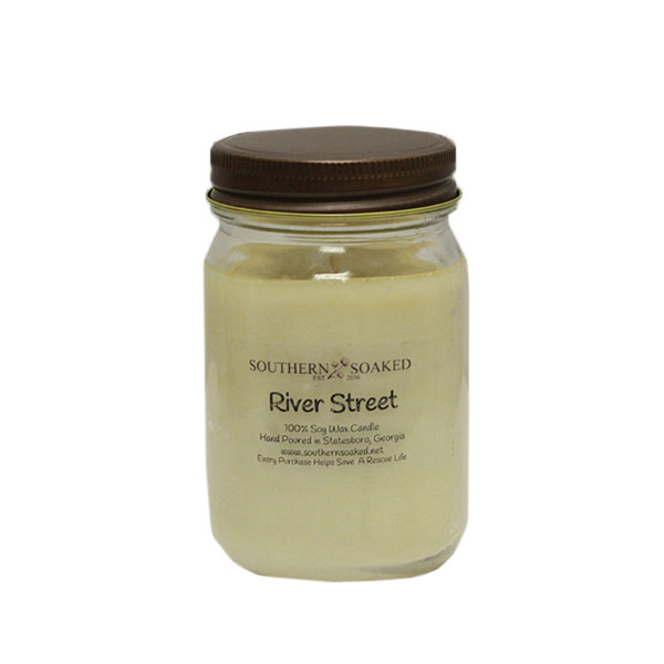 Image For Soy Wax Candle, Pint