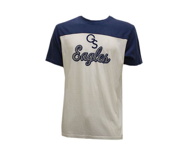 Image For Camp David White/Navy T-Shirt w/GS Eagles
