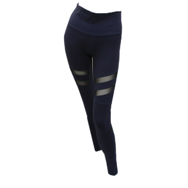 Image For Kadyluxe Lady Navy Mesh Madness Leggings