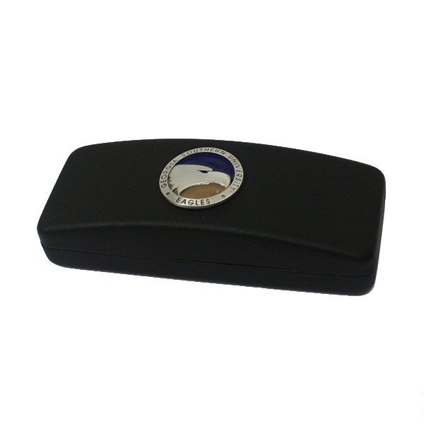 Image For Eyeglass Case w/ Pewter Academic Logo