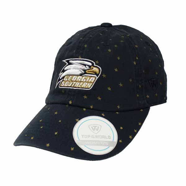 Image For Top of the World Women's Navy Cap w/Stars/Athletic Logo