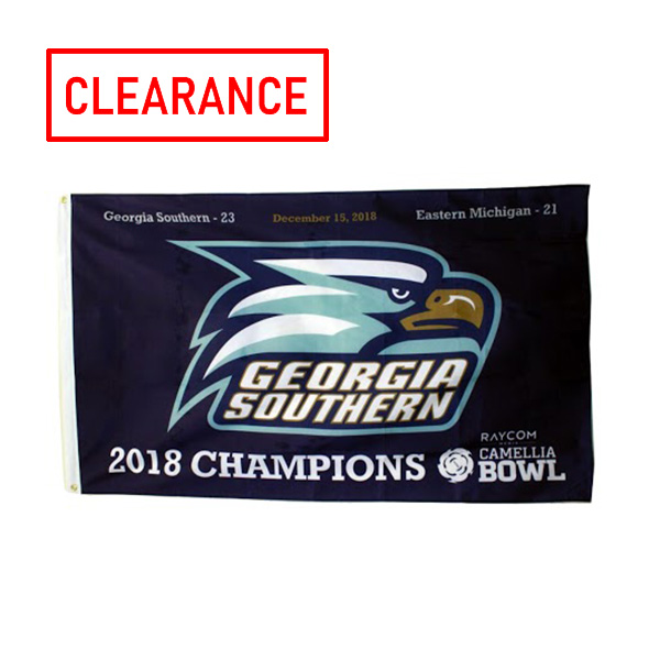 Image For Camilla Bowl Champs Premium Flag, 3' x 5' w/Athletic Logo