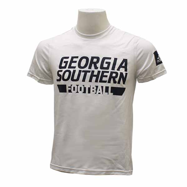 Image For Adidas White T-Shirt w/GASO & Football