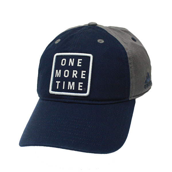"Image For Adidas Navy/Gray ""One More Time"" Slouch Cap w/GASO"
