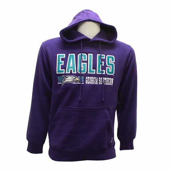 Image For CI Sport Purple Hoodie w/Eagles/Eagle Head/GASO