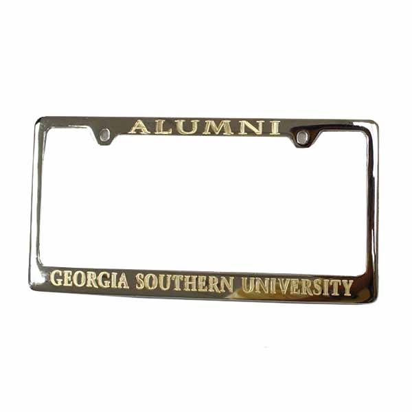Image For Alumni Chrome Tag Frame w/GSU