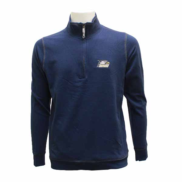 Image For Gear Navy 1/4 Zip Jacket w/Athletic Logo