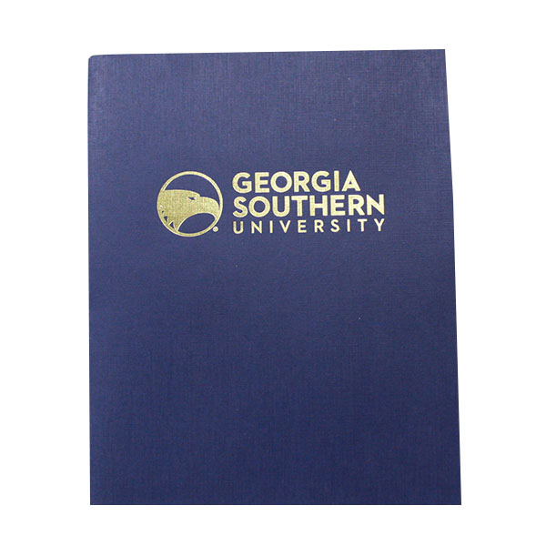 Image For Blue GSU Paper Folder W/Academic Logo