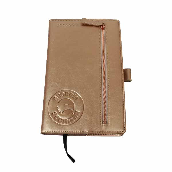 Image For Rose Gold Samsill Notebook Portfolio w/Academic Logo/GASO