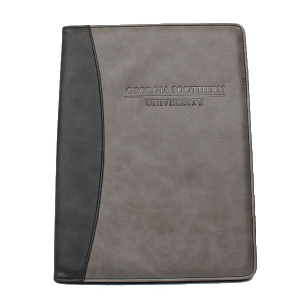 Image For Samsill Two-Tone Padfolio - Black/Gray