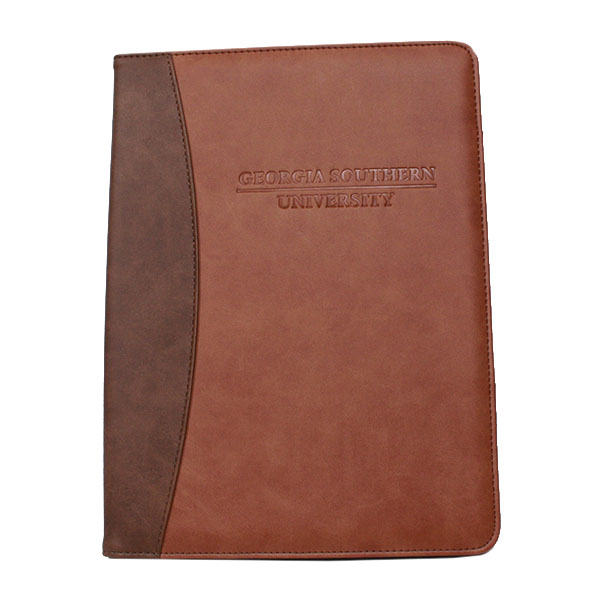 Image For Samsill Two-Tone Padfolio - Brown/Tan