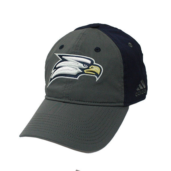 Cover Image For Adidas Gray/Navy Coach Flex Cap w/Eagle Head/GASO