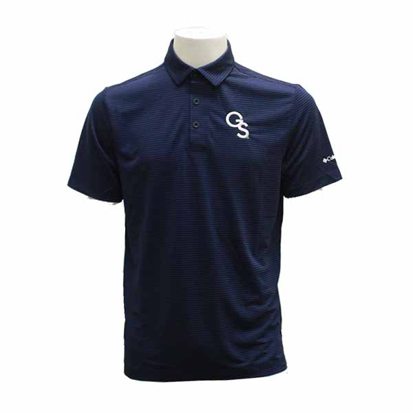 Image For Columbia Navy Golf Polo w/GS