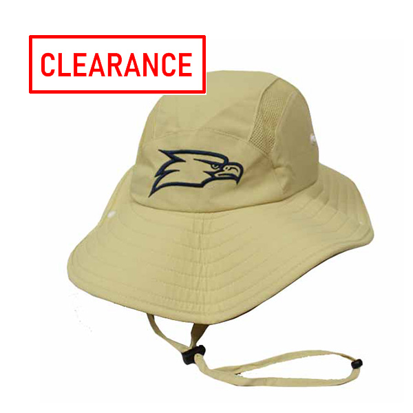 Image For Adidas Khaki Safari Hat w/Eagle Head