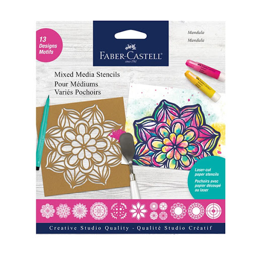 Image For Faber-Castell Media Stencils