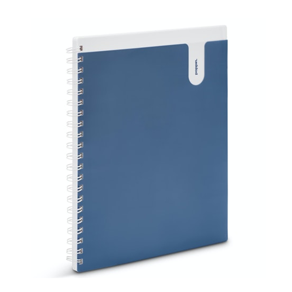 Image For Poppin Blue 1 Subject Notebook