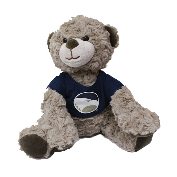 "Image For 9"" Bear Wilson w/Academic Logo on Navy T-Shirt"