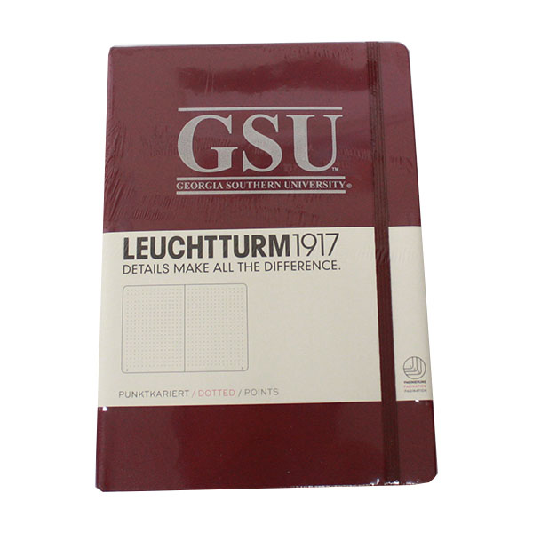 Image For Dotted Notebook w/GSU -Red