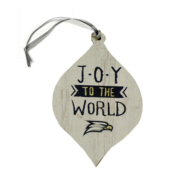Image For Legacy Teardrop Ornament w/Eagle Head/Joy To The World