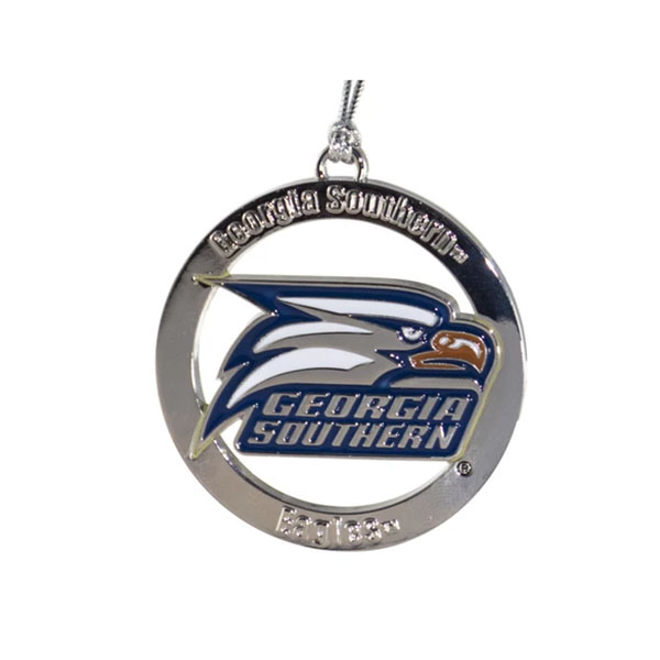 "Image For 2"" Ornament w/Athletic Logo/GASO/Eagles"