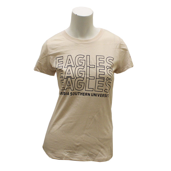 Image For League Cream Ladies T-shirt w/Eagles/GASO