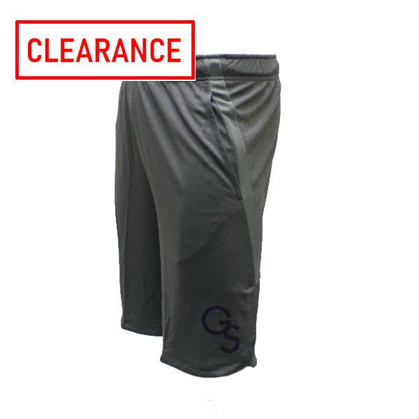 Image For Nike Athletic Grey Shorts w/GS Logo