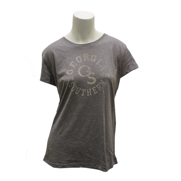Image For Gray Ladies T-shirt w/GS/GASO