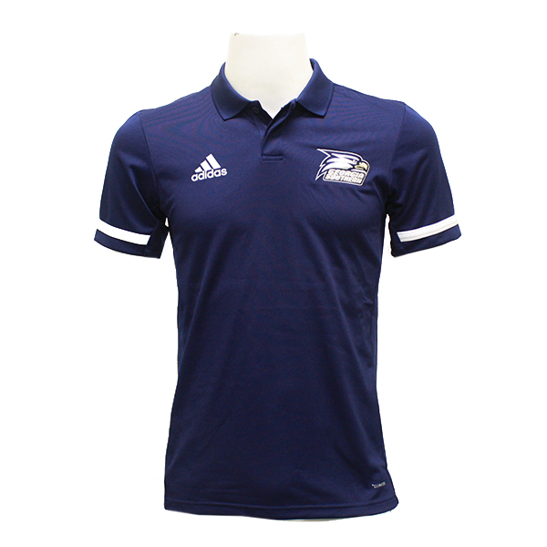 Image For Adidas Navy Polo w/Athletic Logo