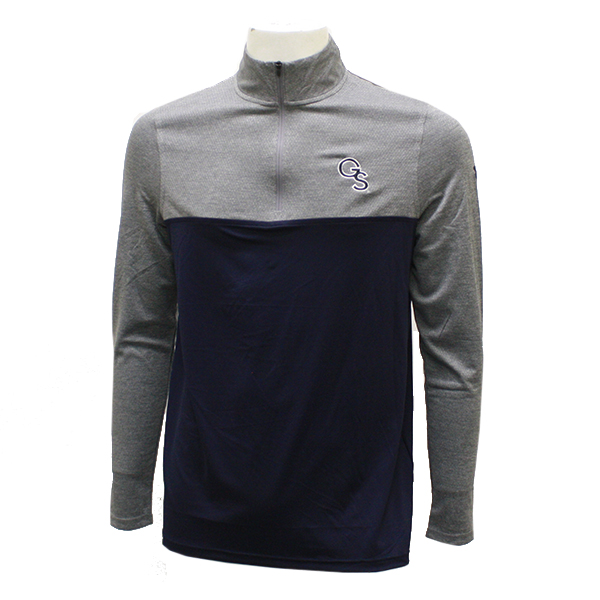 Image For Under Armour Navy/Grey 1/4 Zip Pullover w/GS