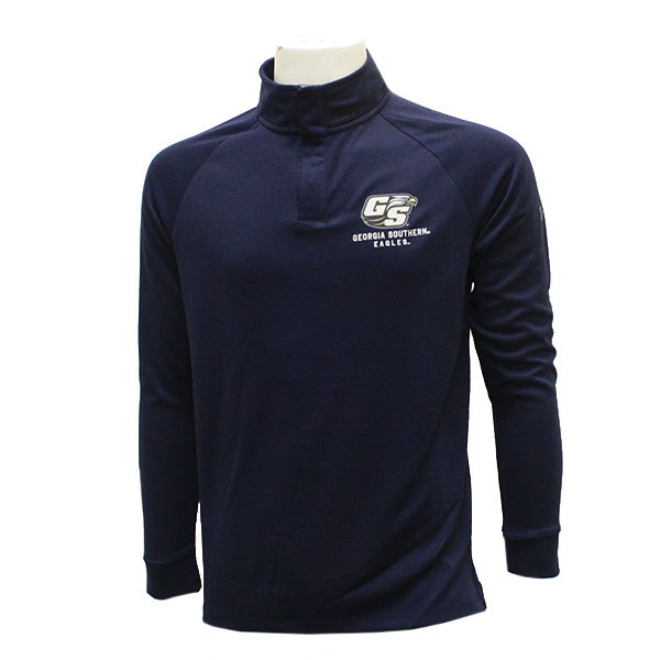 Image For Under Armour Navy 1/4 Snap Fleece w/Secondary Logo