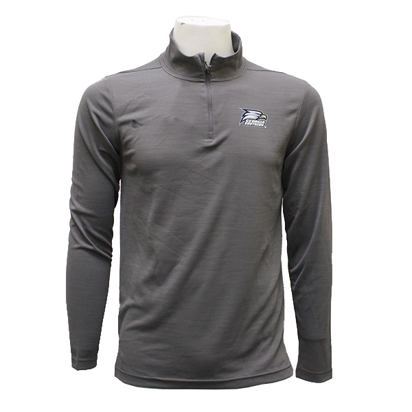 Image For Under Armour Gray 1/4 Zip Pullover w/Athletic Logo