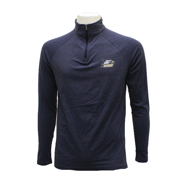 Image For Under Armour Navy 1/4 Zip Jacket w/Athletic Logo