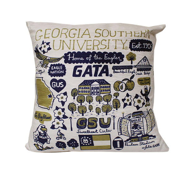 Cover Image For Julia Plush Cotton Pillow w/GASO/GATA