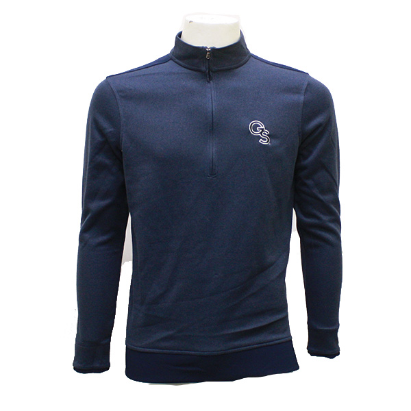Image For Under Armour Navy 1/4 Zip Pullover  w/GS