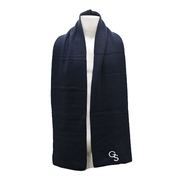 Image For Navy Scarf w/GS