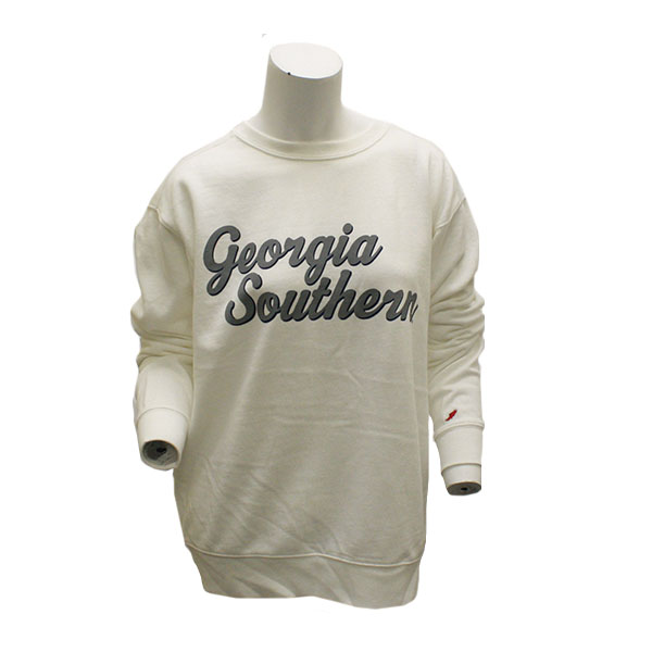 Image For League White Long Sleeve GASO Pullover